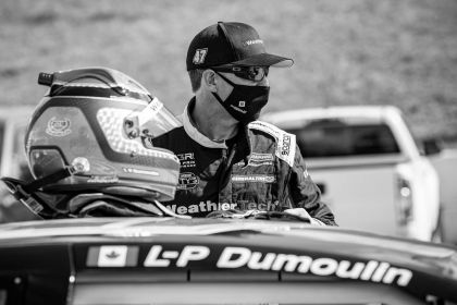 LOUIS-PHILIPPE DUMOULIN ON TRACK AT...