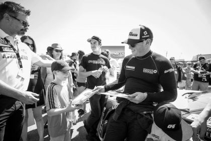 J.F. DUMOULIN: THE DRIVER AND TEAM...