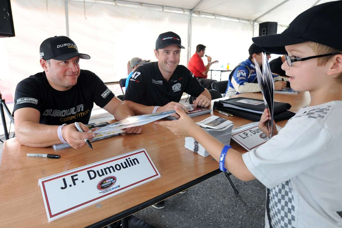 JF Dumoulin approaches the last race of the year with full confidence