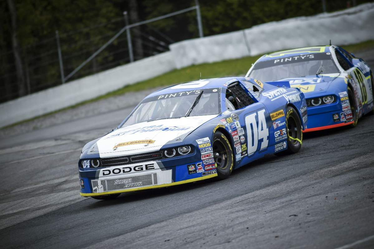 A FIRST RACE ON OVAL TRACK FOR JF DUMOULIN
