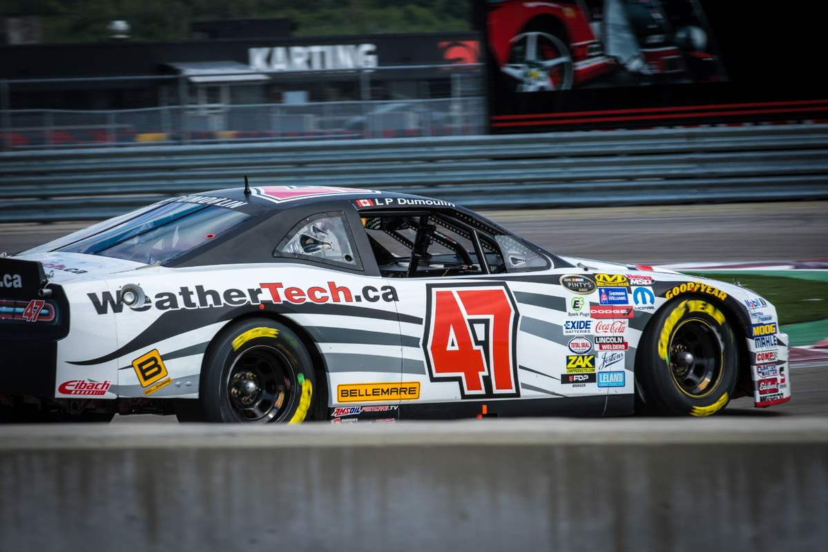 L-P DUMOULIN STILL FOURTH IN DRIVER CHAMPIONSHIP POINTS DESPITE CRIPPLED CAR AT MIRABEL