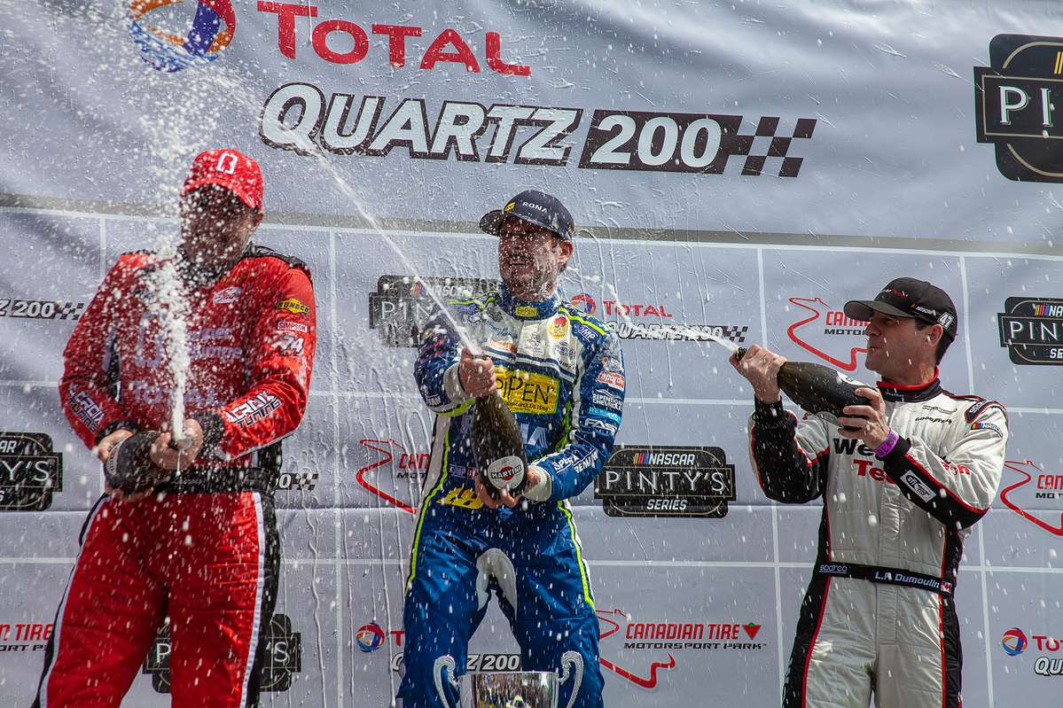 Effective race strategy nets podium finish for the #47 WeatherTech Canada | Groupe Bellemare team