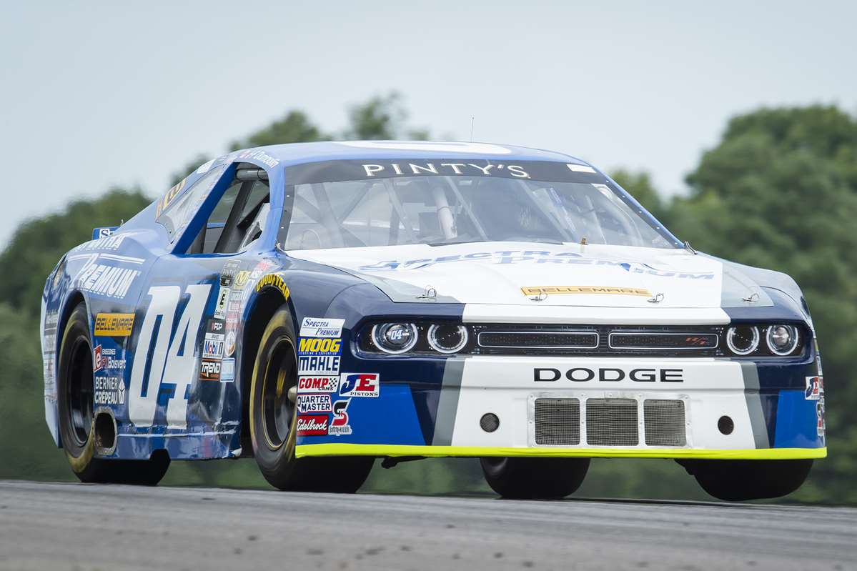 SOLID DRIVE FROM JEAN-FRAN�OIS DUMOULIN AT THE CANADIAN TIRE MOTORSPORT PARK