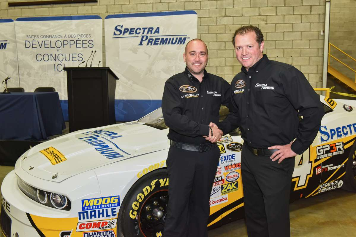 JF DUMOULIN SIGNS MAJOR PARTNERSHIP WITH SPECTRA PREMIUM
